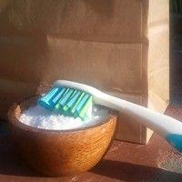 Borsmentás fogkrém porból
