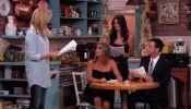 Rachel, Monica And Phoebe From 'Friends' Reunite On Jimmy Kimmel Live! - DesignTAXI.com