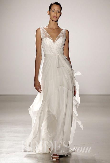 Brides: Christos Wedding Dresses   Spring 2016   Bridal Runway Shows   Brides.com | Wedding Dresses Style