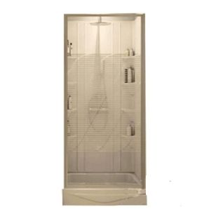"""Home Hardware - 32"""" x 32"""" White ABS Shower Cabinet, with Door"""