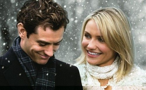 The Holiday : Jude Law x Cameron Diaz....2 smarmy...lovey dovey and over the top...get yer sick buckets...2 nicey safey feel good film...ughhhhhh