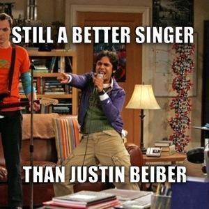 Still a better singer than Justin Beiber.