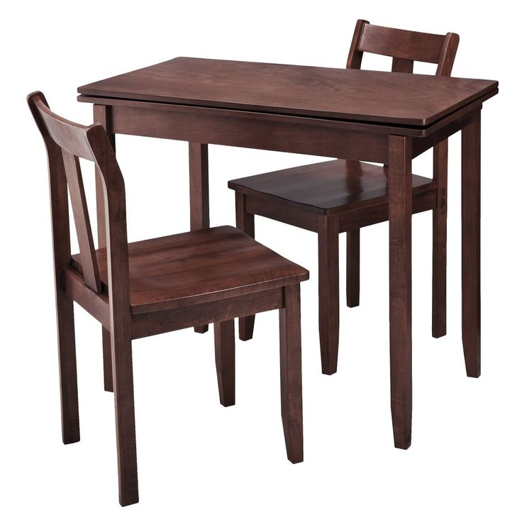 Target Kitchen Tables: Threshold 3-pc. Expandable Dining Set With Storage