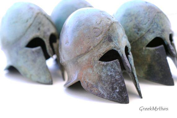 Bronze Corinthian Helmet by Greek Mythos @GreekMythos GreekMythos