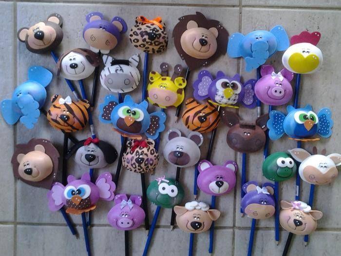 cabezas de #animales #foami