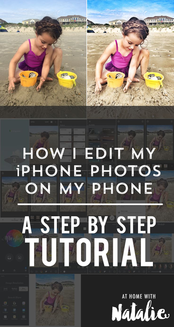 HOW I EDIT IPHONE PHOTOS-ATHOMEWITHNATALIE
