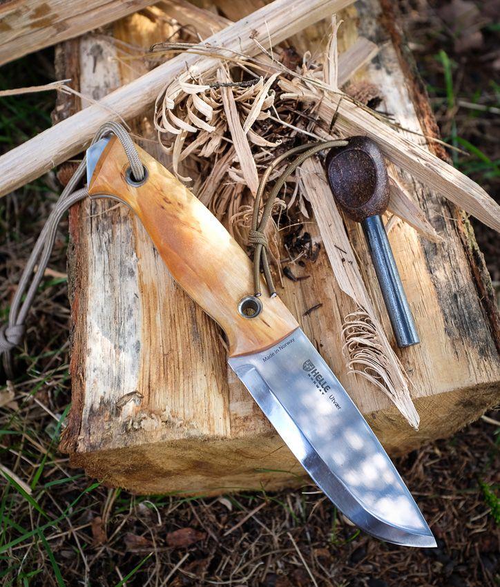 BushcraftUK: Community Forum - Helle Utvaer - bushcraft knife designed by Jesper Voxnaes (aka VOX)