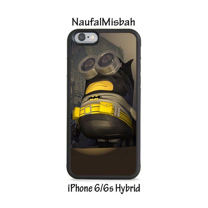 New Batman Despicable Me Minion iPhone 6/6s HYBRID Case Cover