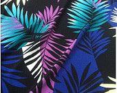 Orchid Silk Fabric. Aqua Silk. Orchid fabric. by fabricAsians