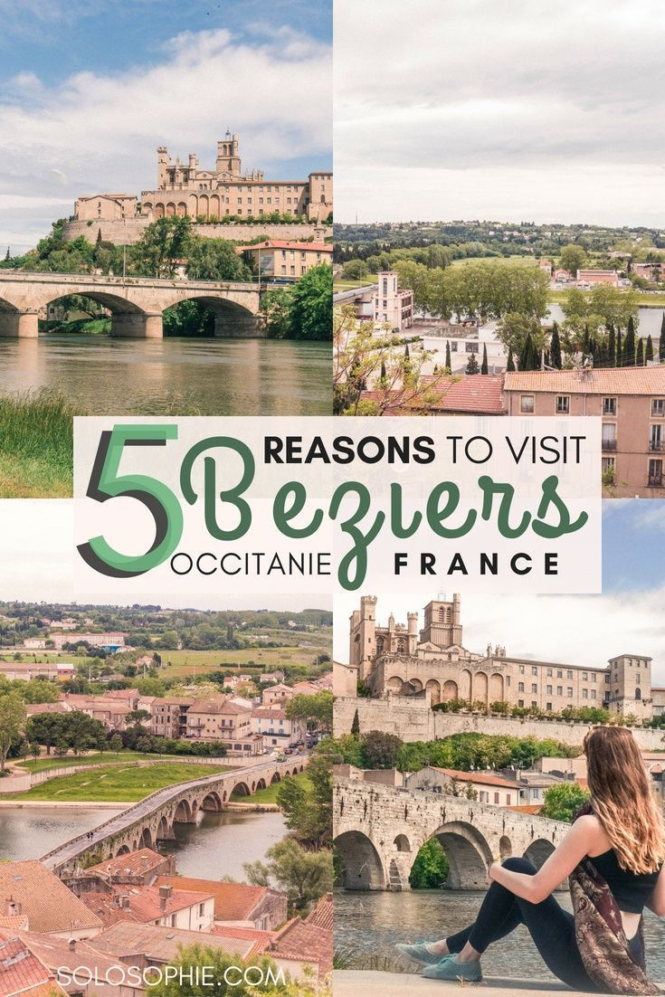 Beziers: small town in languedoc that is full of character.