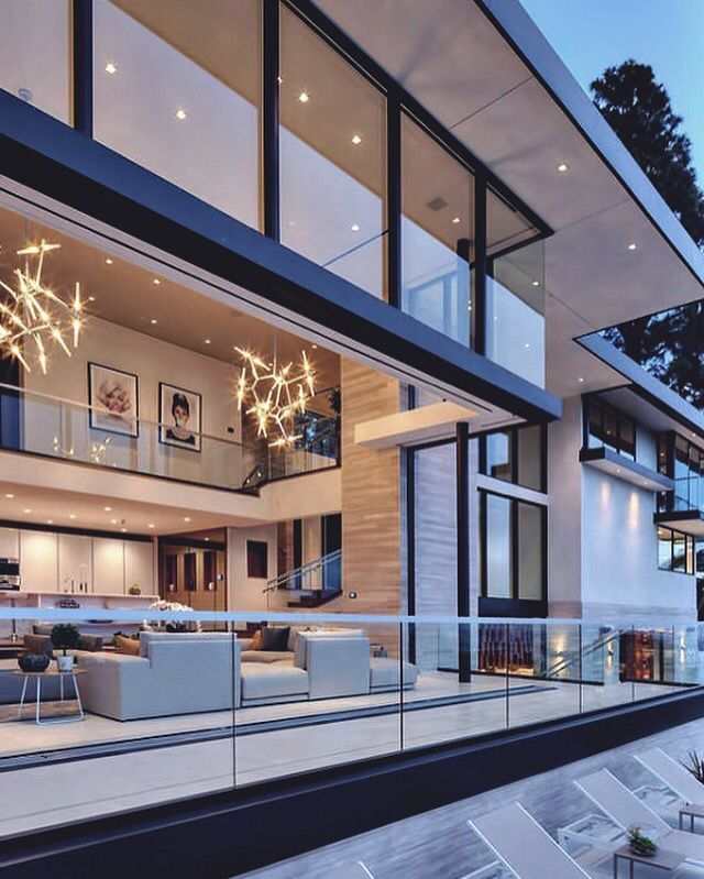 Luxury Modern Mansion Interior: Best 25+ Modern Homes Ideas On Pinterest