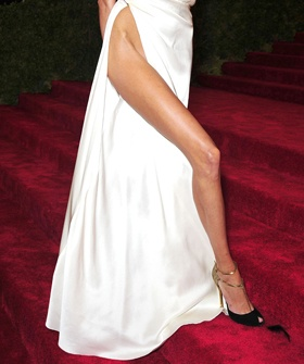 Forget Angelina Jolie. Anja Rubik's Leg Is The Biggest Show-Off Of All