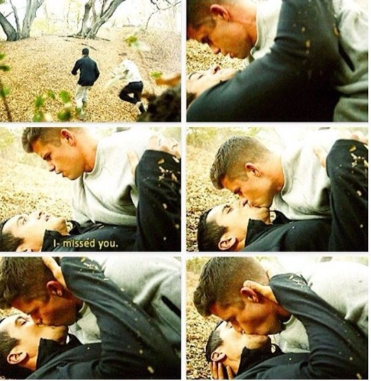 Teen wolf letharia vulpina >> this was so adorable!!! #Dethan