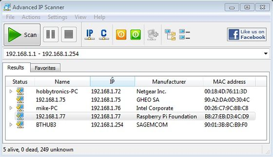 Raspberry Pi SSH Login without Monitor