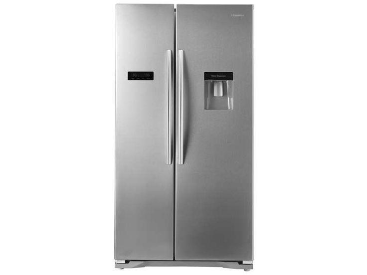 Réfrigérateur américain 556 litres HISENSE RS723N4WC1 pas cher prix promo Réfrigérateur Conforama 746.10 € TTC au lieu de 1 059 €