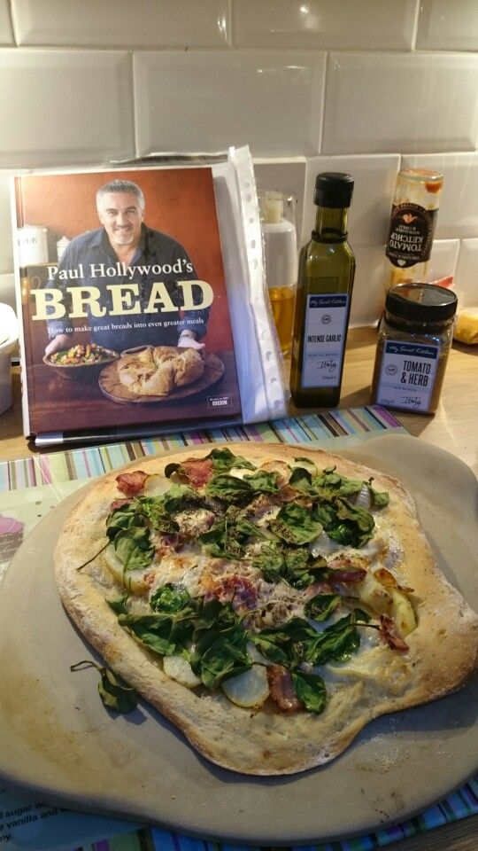 Paul Hollywood pizza with a My Secret Kitchen twist. #EveryDayGourmet #PaulHollywood