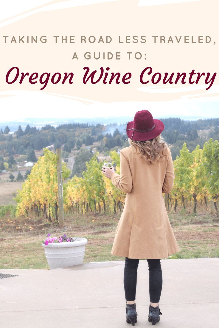 Willamette Valley wine itinerary: A guide to the best vineyards and wineries in Oregon wine country near Portland, Oregon. @oregonwine