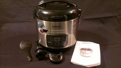 Pressure cooker or how to use a rice cooker