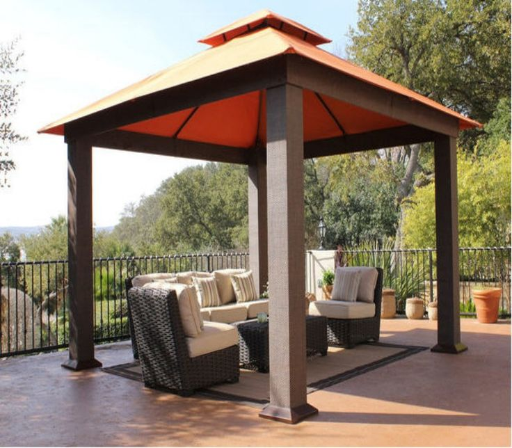 17 best ideas about patio gazebo on pinterest - Temporary patio cover ideas ...