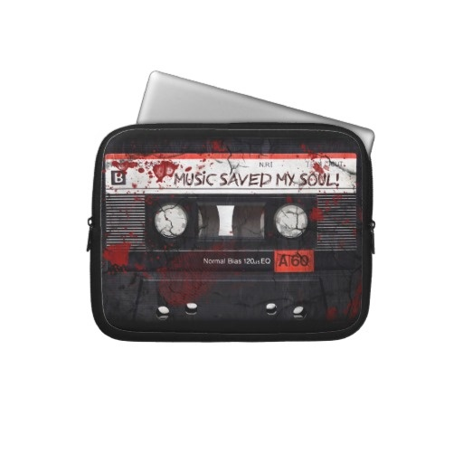 tape design computer sleeve  All products with this design you can find here: http://www.zazzle.com/ann_geldesign/gifts?gp=105981634995226501