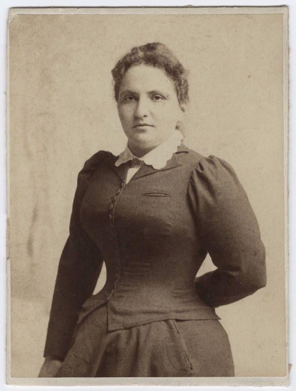 Gertrude Stein at Radcliffe College, 1894