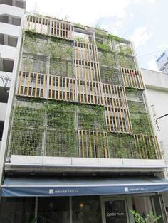 green facade - Google Search