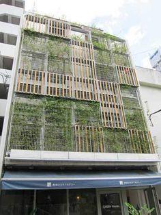 green facade - Google Search