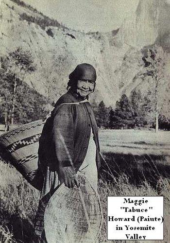 The Yosemite Native Americans - Maggie Tabuce Howard in Yosemite Valley by Yosemite Native American, via Flickr