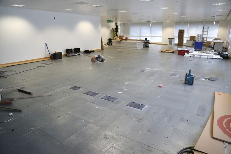 Juice Plus+ - The space before we started work!