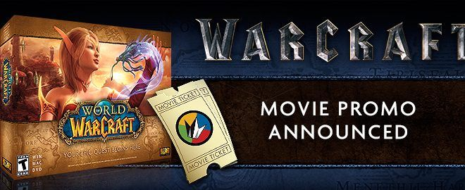 World of Warcraft gratis por ir a ver la película World of Warcraft: El Origen