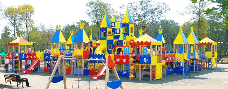 Производство уличного оборудования для детских площадок