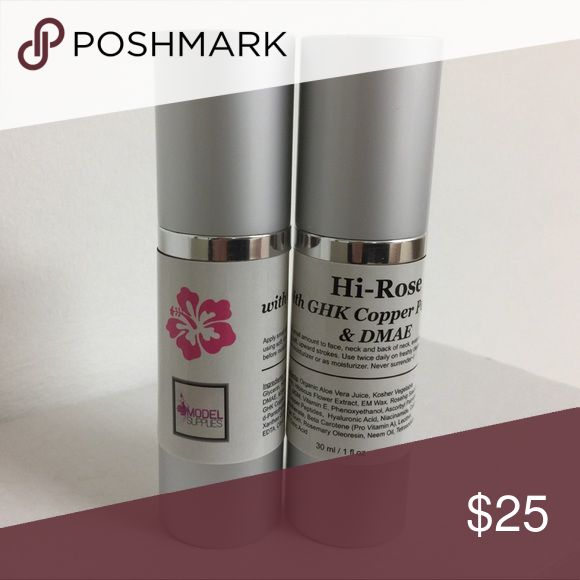 """GHK Copper Peptide Serum ModelSupplies Hi-Rose 1oz If you are doing microneedling, Derma Rolling, peels, scrubs, or even if you're not, Hi-Rose is the perfect Serum to heal your skin, reverse sagging and minimize fine lines and wrinkles.   ModelSupplies has been keeping you """"you"""" since 2002. ModelSupplies Makeup Face Primer"""