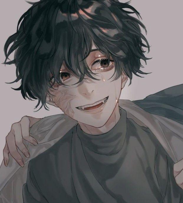 Kyorin Anime Boy Black Haired Anime Boy Anime Boy Hair Yandere Anime