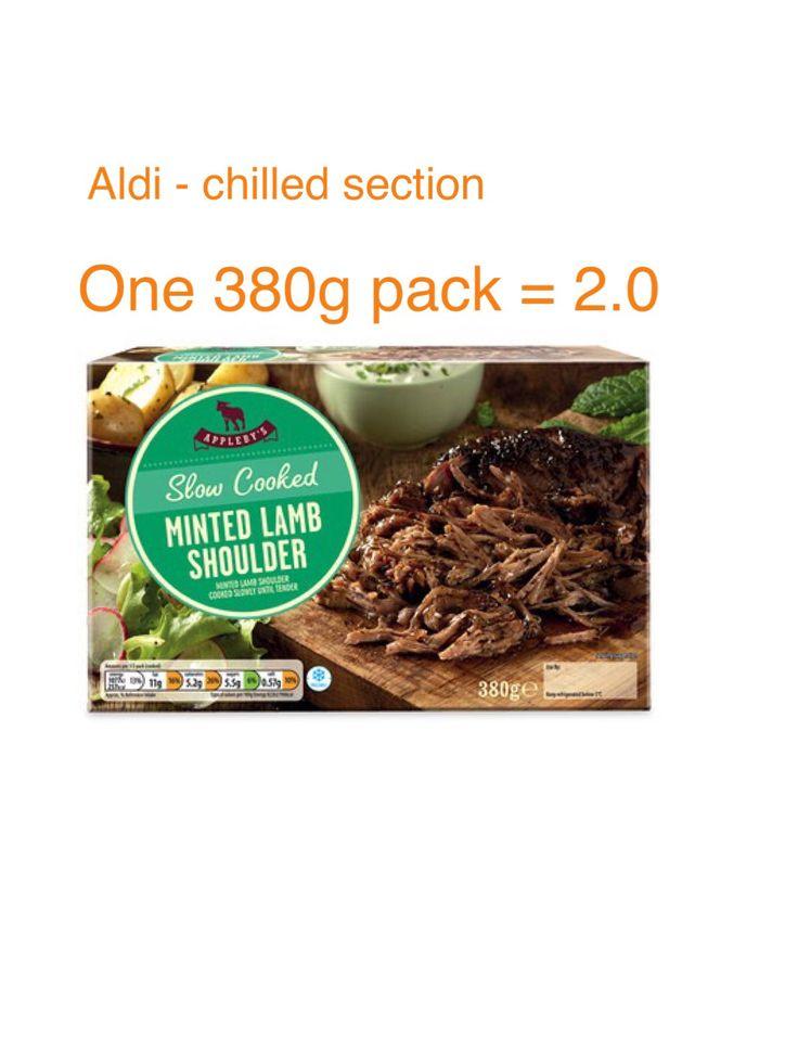 Aldi - Slow Cooked Minted Lamb Shoulder