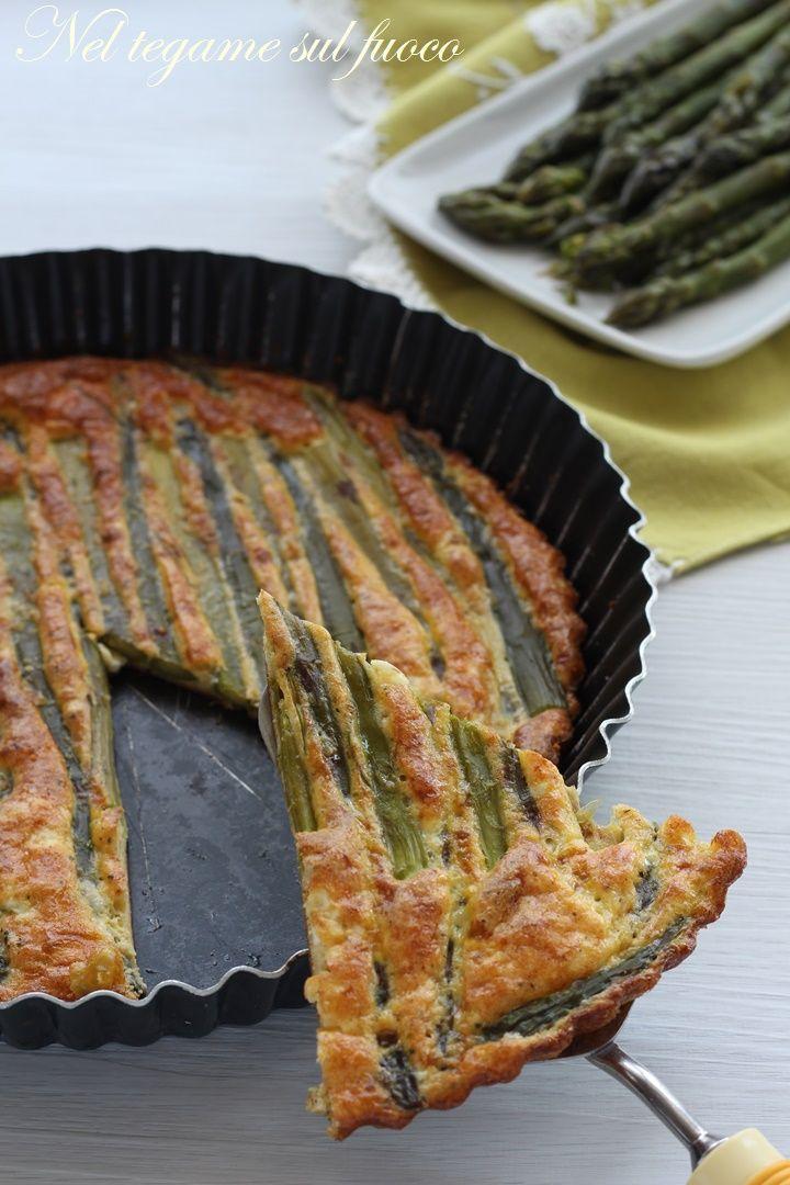 leggera e molto gustosa, e con un trucco per non farla attaccare!  #asparagi