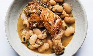 Nigel Slater's chicken with butterbeans and rosemary | Life and style | The Guardian