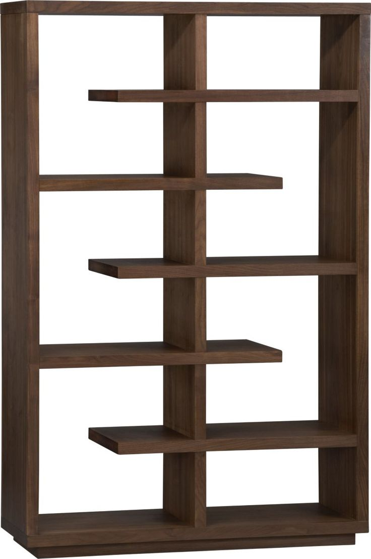 """<3 this bookcase.   Elevate Walnut 68"""" Bookcase in Room Dividers 