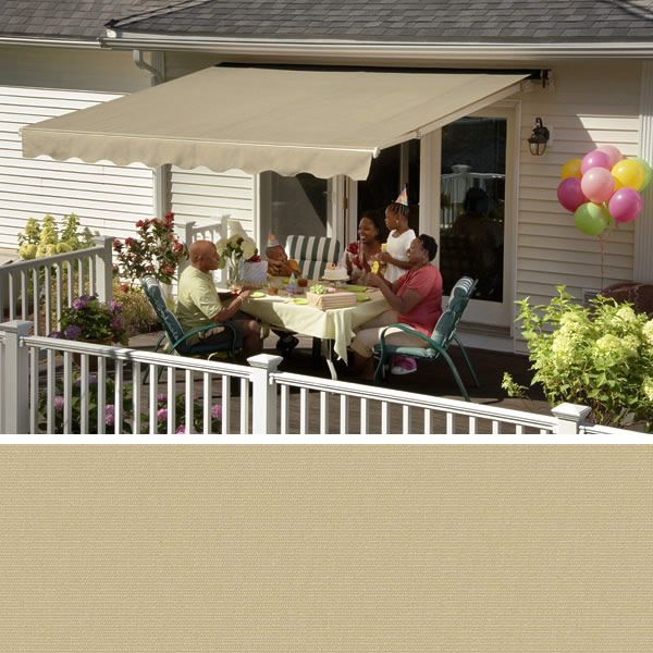 Nutmeg Tweed 7957 Color Choice SunSetter Awnings Acrylic Fabrics