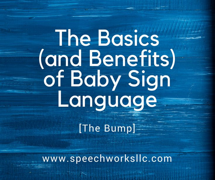 The Bump interviewed Jann Fujimoto about using baby sign language. Jann is a speech therapist and owner of SpeechWorks in Oconomowoc, WI.