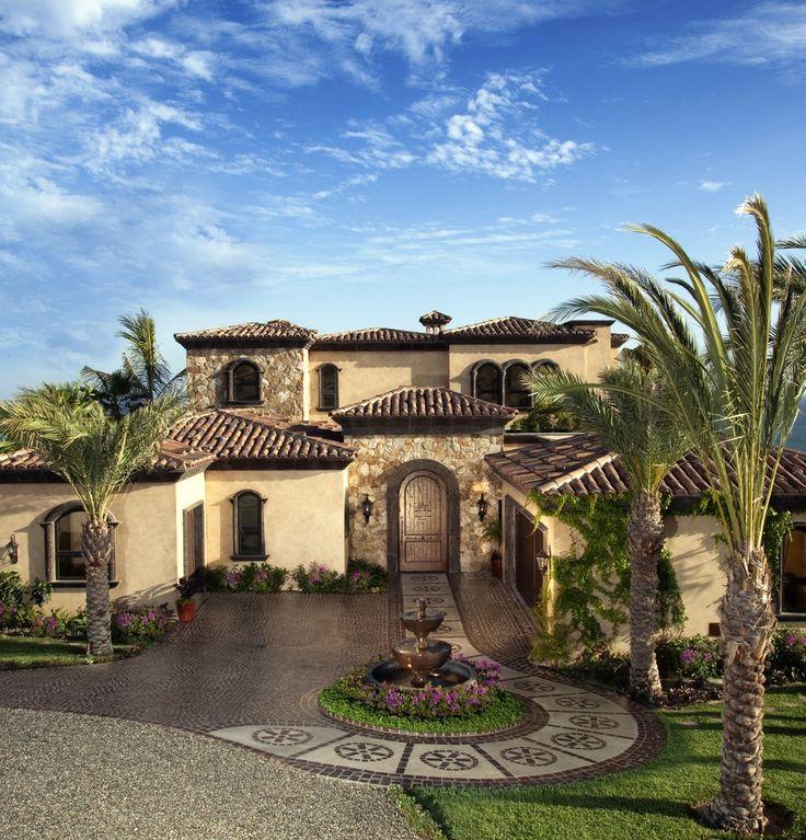 Best 25 Luxury Mediterranean Homes Ideas On Pinterest: 25+ Best Ideas About Mediterranean House Exterior On
