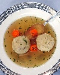 Vegetarian Matzo Ball Soup Recipe