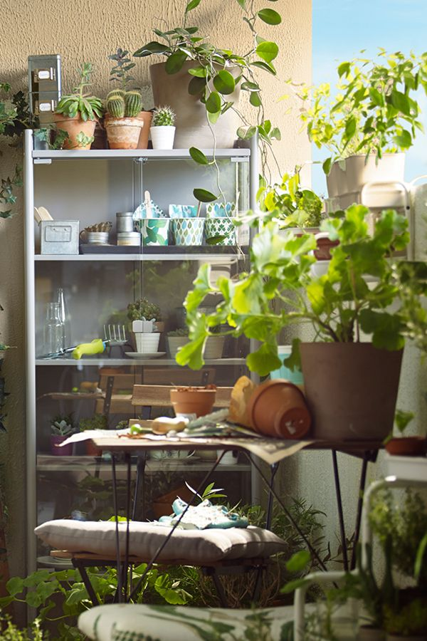 turn your balcony into a garden retreat