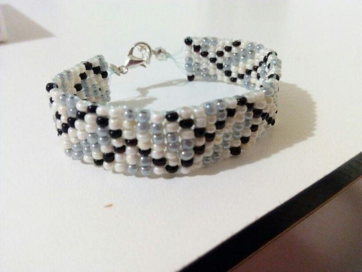 Bead loom jewelery handmade diy