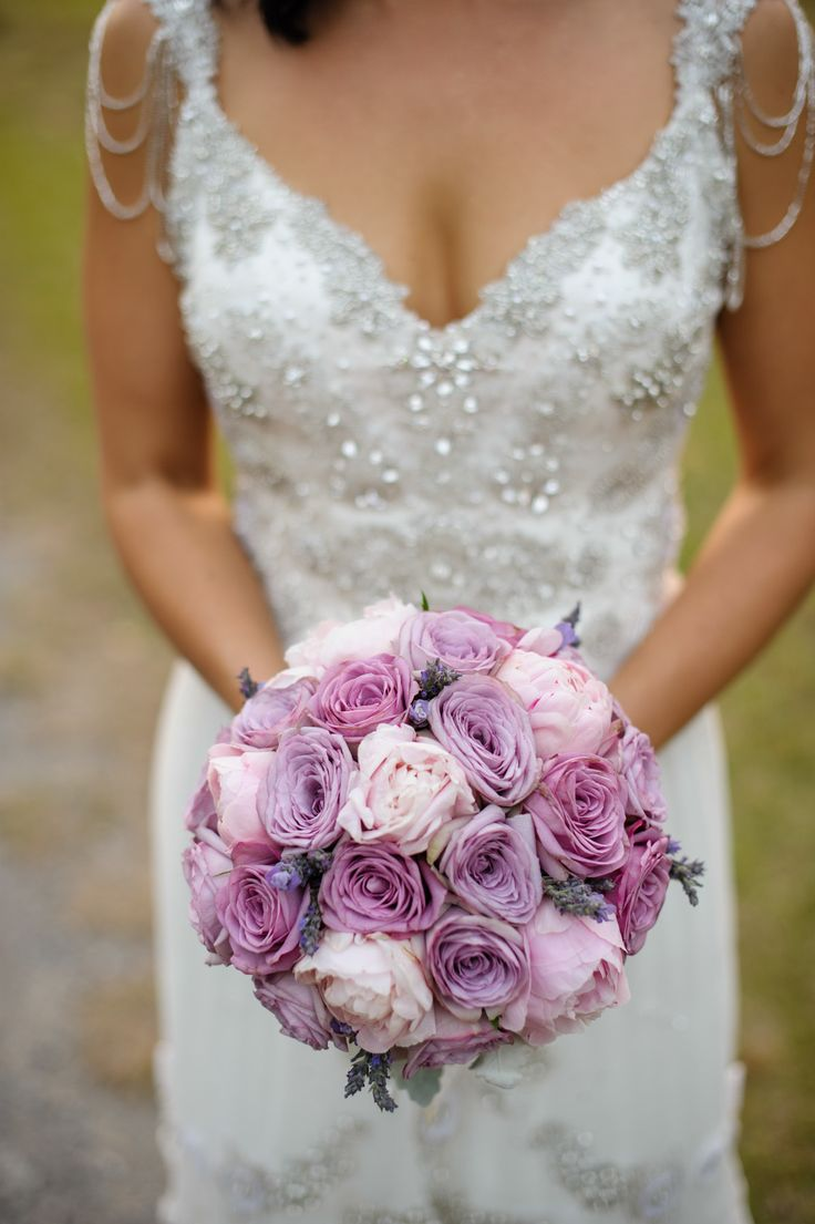Pink + Lavender + Orchid Roses | Pretty Color Palette | Photography: Andrea Sproxton | See the wedding on SMP --  http://www.StyleMepretty.com/australia-weddings/queensland-au/brisbane/2014/01/08/bundaleer-rainforest-gardens-wedding/