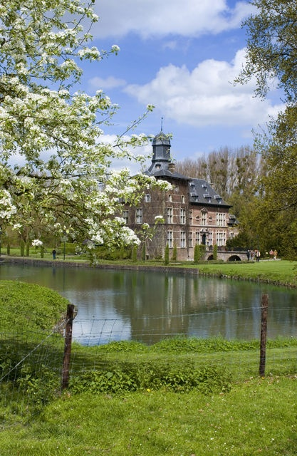 Haspengouw in Limburg Flanders, well known for its fruit growing
