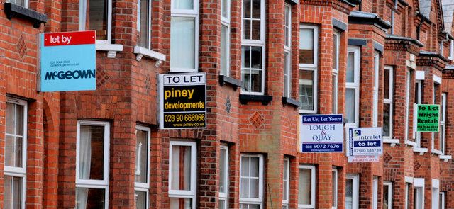 Finding a place to live in the UK