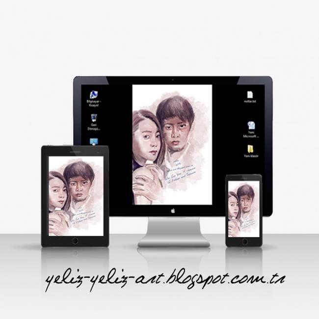 Dijital portre çizim.   Ayrıntılı bilgi: http://yeliz-yeliz-art.blogspot.com.tr/2015/12/dijital-portre-cizim-yeliz-art.html