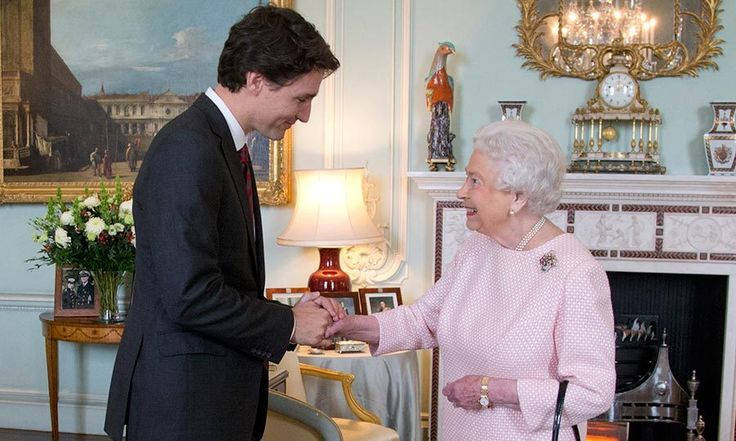Prime Minister Justin Trudeau reunites with the Queen in Scotland