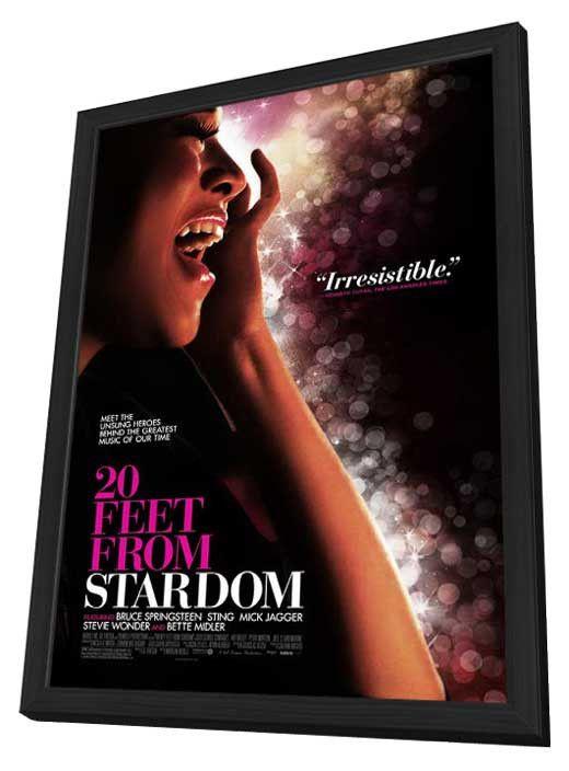 Twenty Feet from Stardom 27x40 Framed Movie Poster (2013)