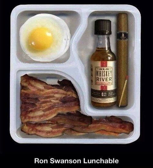 Ron Swanson lunchable
